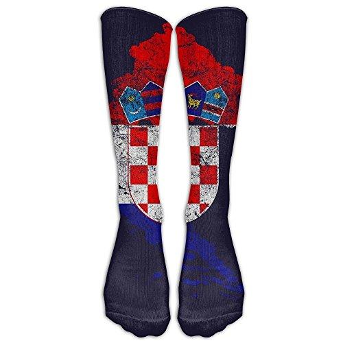 D-Twins Socks Unisex Croatia Flag And Map Croatian Pride Men