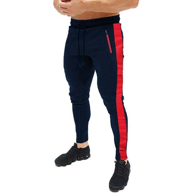 junkai Pantalones Fitness Gym Pantalón Deportivo Alta Elasticidad ...