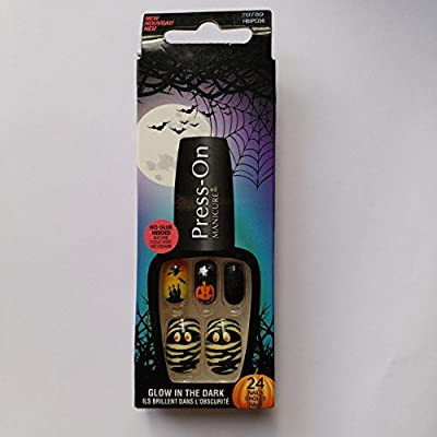 Kiss 70789 Collection Halloween Press On Manicure uñas postizas ...