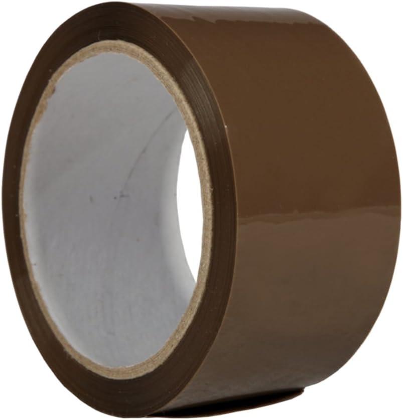 18X Cinta adhesiva PP 28(marrón) Pack de banda cinta adhesiva para paquetes cartón del paquete: Amazon.es: Bricolaje y herramientas