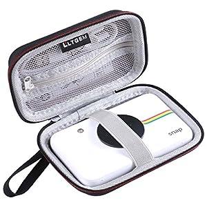 LTGEM for Polaroid Snap & Polaroid Snap Touch Instant Print Digital Camera EVA Hard Case Travel Carrying Storage Bag ( Black ) by LTGEM