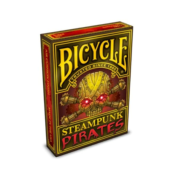 Bicycle Steampunk Pirates Playing Cards 3