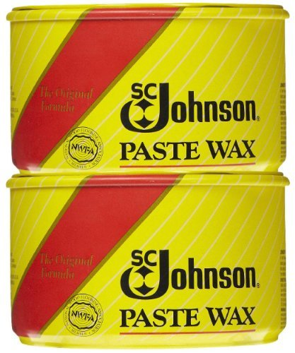 SC Johnson Fine Wood Paste Wax, 16 oz-2 pk