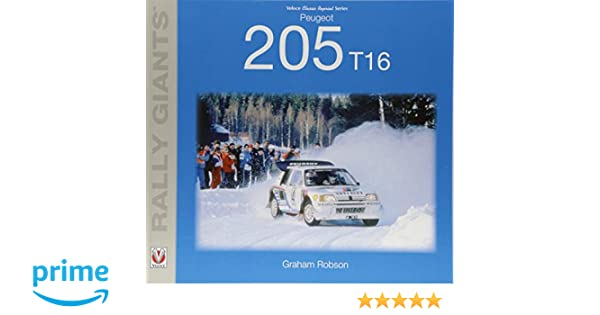 Peugeot 205 T16 (Rally Giants): Graham Robson: 9781787113251: Amazon.com: Books