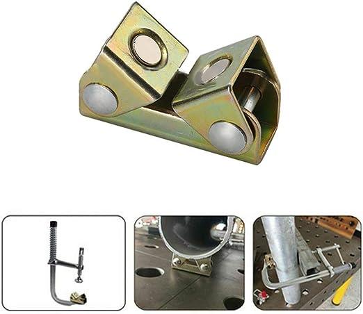 V-Clamp Magnetic Welding Clamps Holder Suspender Fixture Window Welding Fixture