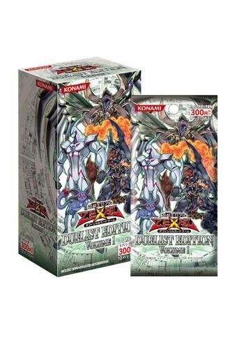 Yu-Gi-Oh! Zexal OCG Duelist Edition Volume 1 (12packs) by Konami