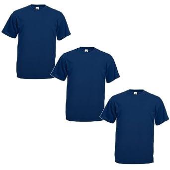 Fruit of the Loom Camiseta (Pack de 3) para Hombre: Amazon.es ...