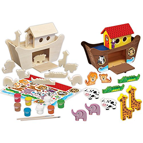 [MasterPieces Works of Ahhh Deluxe Noah's Ark Wood Paint Kit] (Diy Winkie Costume)