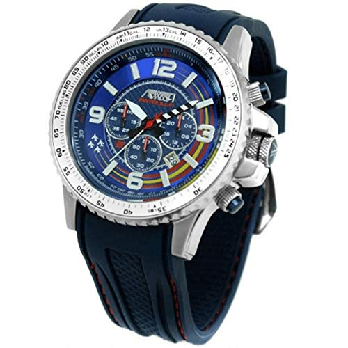 Reloj Aviador Patrulla Aguila Cronógrafo Caballero AV-1193: Amazon.es: Relojes