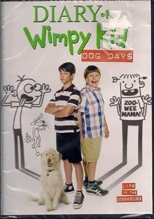 Amazon Com Diary Of A Wimpy Kid Dog Days Dvd 2012 New By Zachary Gordon Movies Tv