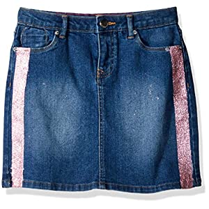 Calvin Klein Little Girls' Denim Skirt