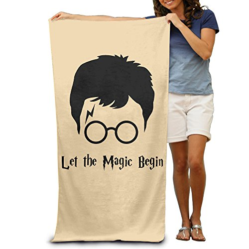 ^GinaR^ 300g Harry Potter Funny Fiber Reactive Beach Towel