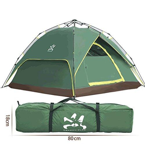 構築するひいきにする要塞TLMY 屋外2-3-4人複数人自動ダブルスピードオープンフィールドレインデュアルユーズ二層迷彩テント テント (色 : C)