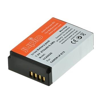 Jupio Digital Camera Replacement Battery for Canon LP E12   NB E12, Grey  CCA0026  Batteries