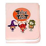 Royal Lion Baby Blanket Halloween Trick or Treat Kids - Petal Pink