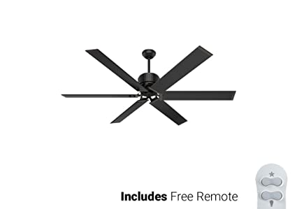 Hunter outdoor ceiling fan 59136 hfc 72 matte black energy star 72 hunter outdoor ceiling fan 59136 hfc 72 matte black energy star 72quot with mozeypictures Images