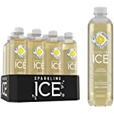 Sparkling Ice Classic Lemonade Sparkling Water, with Antioxidants and Vitamins, Zero Sugar, 17  Fl. Oz Bottles (Pack of 12)
