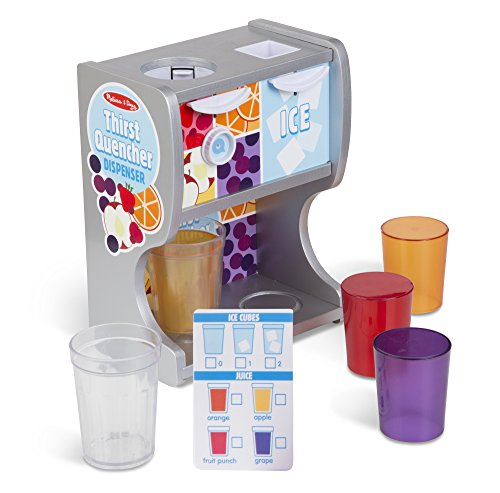 Melissa & Doug Thirst Quencher Dispenser Pretend Play - Nj Outlets Premium