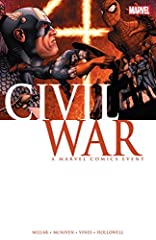 Collects Civil War (2006) #1-7. Whose side are you on? A conflict is brewing that threatens to pit friend against friend, brother against brother and all it will take is a single misstep to cost thousands their lives and ignite the fuse! As t...