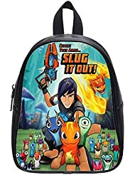 Emana Backpacks Custom Slugterra middle school Student Shoulder School Bag travel backpack