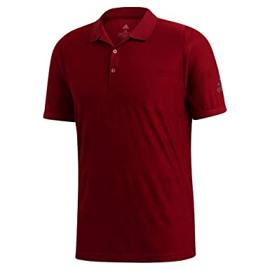 adidas Mcode Tennis Polo Shirt, Collegiate Burgundy, Extra-Large ...