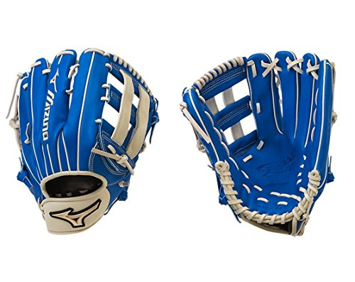 Mizuno Global Elite Glove, Royal/Cream ,Right Hand Throw