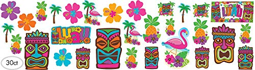 Amscan Tiki Party Cutout Kit -