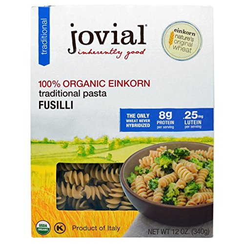 Jovial Fusilli,Og1,Einkorn 12 Oz (Pack Of 12)