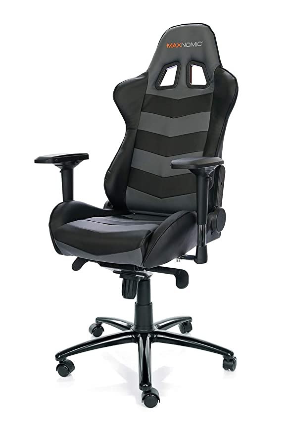 Amazon.com: MAXNOMIC Thunderbolt (Black) Premium Gaming Office & Esports Chair: Kitchen & Dining