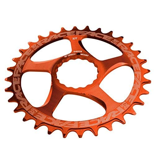 RaceFace Narrow Wide Cinch Direct Mount Chainring (Orange, 34T) by RaceFace