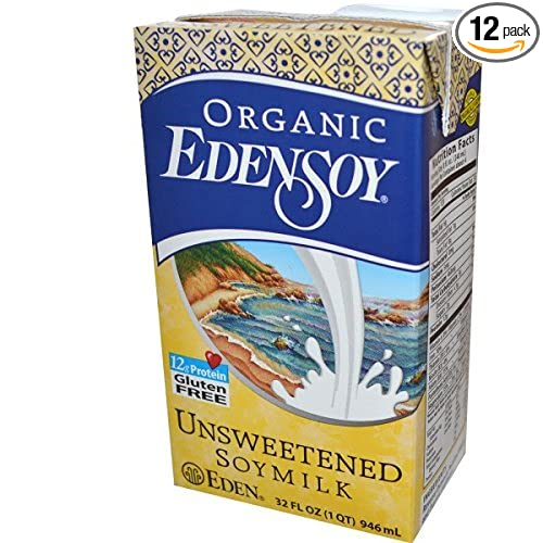 Eden Foods Organic Unsweetened Edensoy