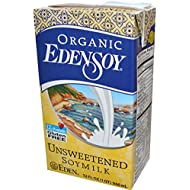 Eden Foods Organic Unsweetened Edensoy, 32 OZ, Pack Of 12