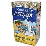 Eden Foods Organic Unsweetened Edensoy ( 12x32 OZ)