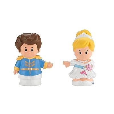 Fisher-Price Little People Disney Princess, Cinderella & Prince Charming: Toys & Games