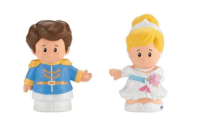 Fisher-Price Little People Disney Princess, Cinderella & Prince Charming