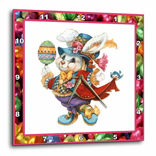 1 Easter Bunny-Wall Clock - pretty Easter wall decor