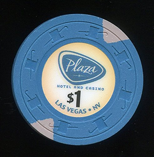 $1 Plaza later issue Downtown Las Vegas Nevada Casino Chip Plaza is Closed now Obsolete Uncirculated was used in Casino perfect Collectors - Vegas Downtown Plaza