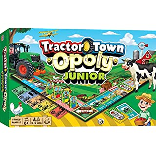 MasterPieces Tractor Town - Opoly Jr, Assorted