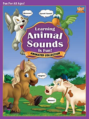 Learning Animal Sounds is Fun