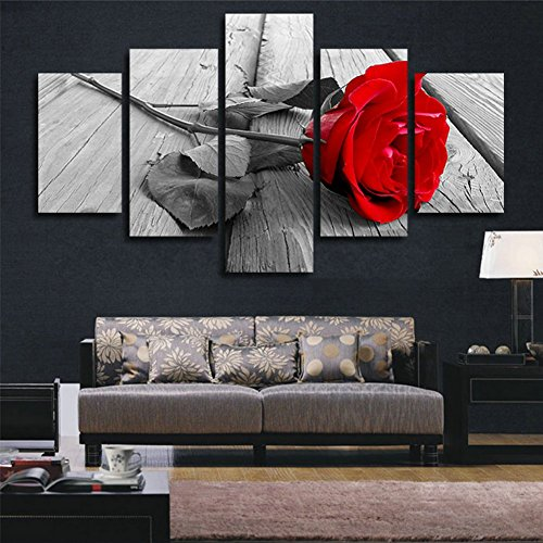 red and black wall pictures - 8