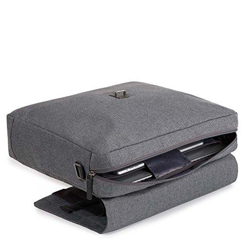Piquadro Hombre Ca4128w84 Bolso de mensajero gris gris