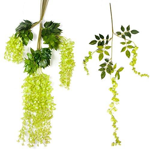 12-Piece-36-Feet-Artificial-Silk-Wisteria-Vine-Ratta-Hanging-Flower-for-Wedding-Dcor