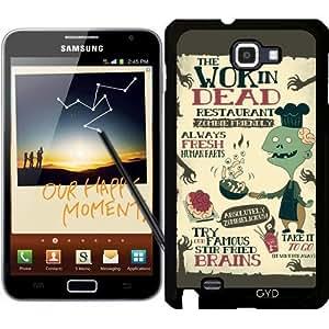 Funda para Samsung Galaxy Note GT-N7000 (I9220) - El Wok De Muertos by AnishaCreations