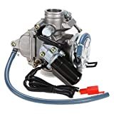 Steel Carburetor ,150cc Scooter For 4-Stroke GY6 GY-6 Engines Carb Go-Kart, Silver