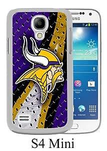 Samsung Galaxy S4 Mini Screen Case ,Minnesota Vikings 02 White Samsung Galaxy S4 Mini Cover Fashion And Unique Designed Phone Case