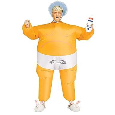 Fun World Disfraz de Presidente Inflable para bebé Trump Style ...