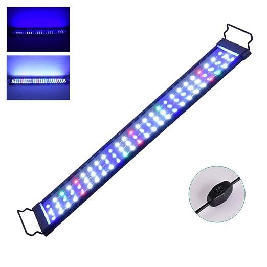 NANANA Luz LED para Acuarios de Agua Dulce, Lámpara LED con Luz de ...