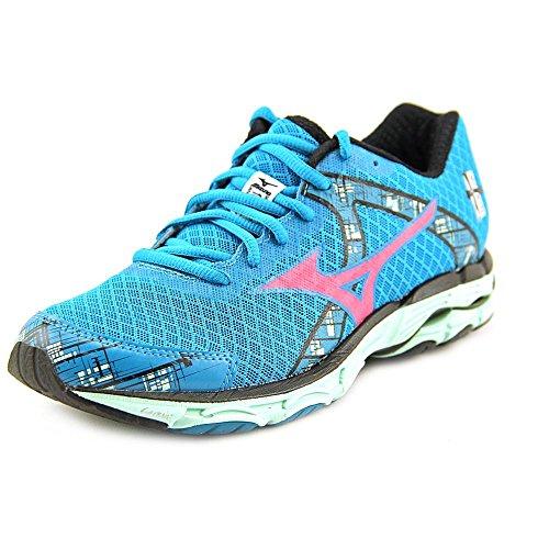 Mizuno Wave Inspire 10 Running Shoe,Caribbean Sea/Shockin...