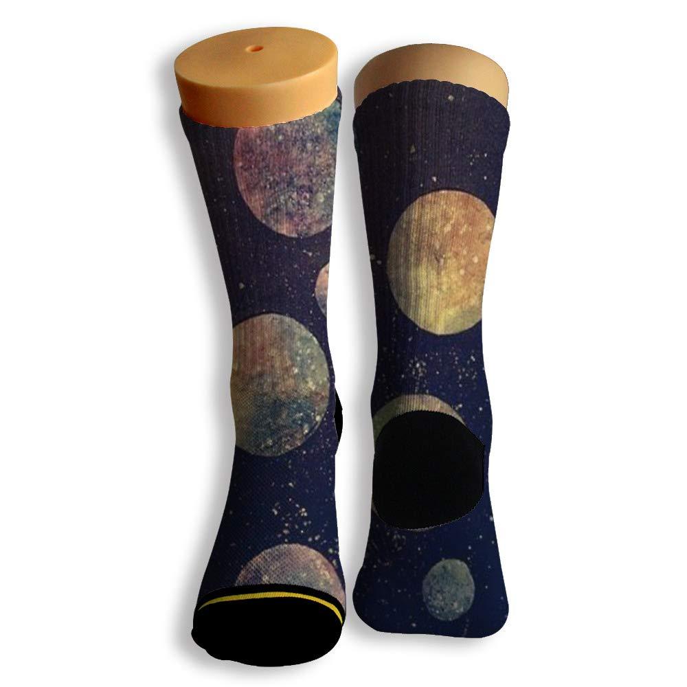 Basketball Soccer Baseball Socks by Potooy Planet Antique 3D Print Cushion Athletic Crew Socks for Men Women