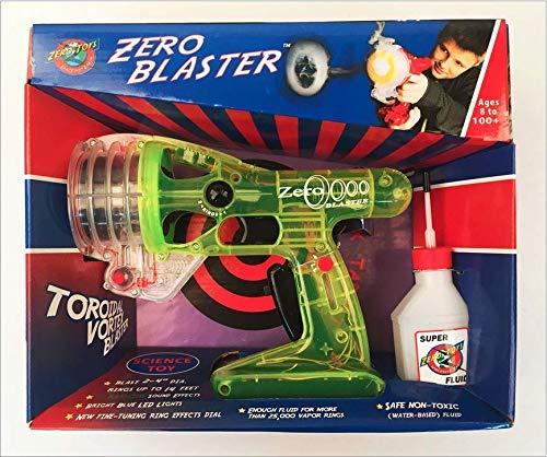 Green Zero Blaster - Blasts Smoke Rings Up To 12 -
